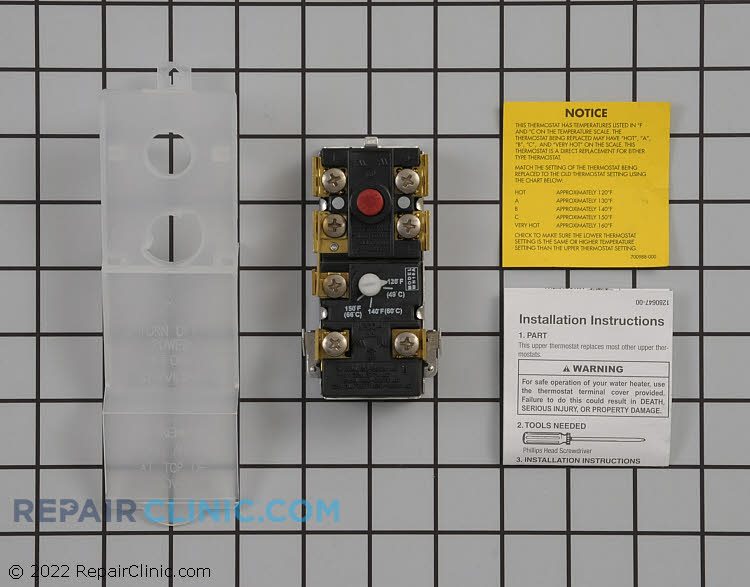 Temperature Control Thermostat WP66001254 Alternate Product View