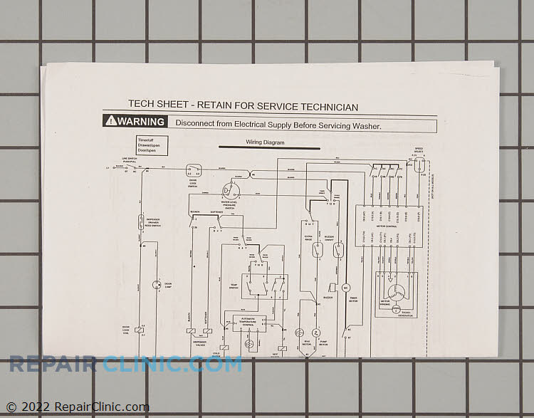 Wiring Diagram 134000400       Alternate Product View