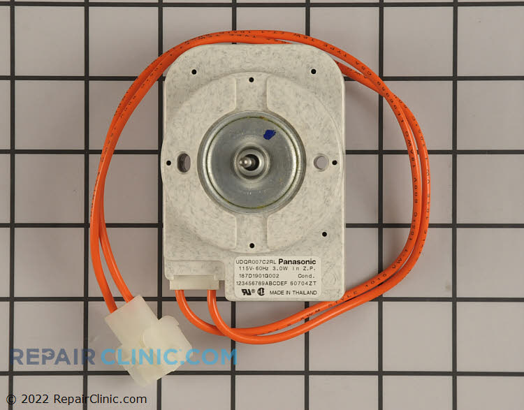 Ge refrigerator condenser fan motor wr60m133 for Ge refrigerator condenser fan motor not working