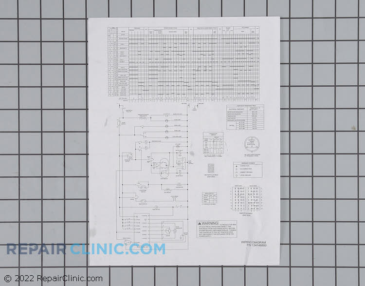 Wiring Diagram 134148800 Alternate Product View