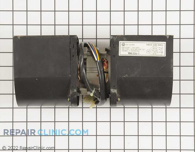 Exhaust Fan Motor FMOTEA366WRK0 Alternate Product View