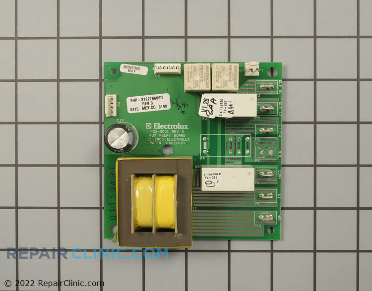 Relay Board 316278600 Alternate Product View