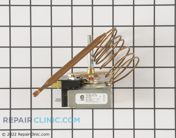 Temperature Control Thermostat 00487553 Alternate Product View