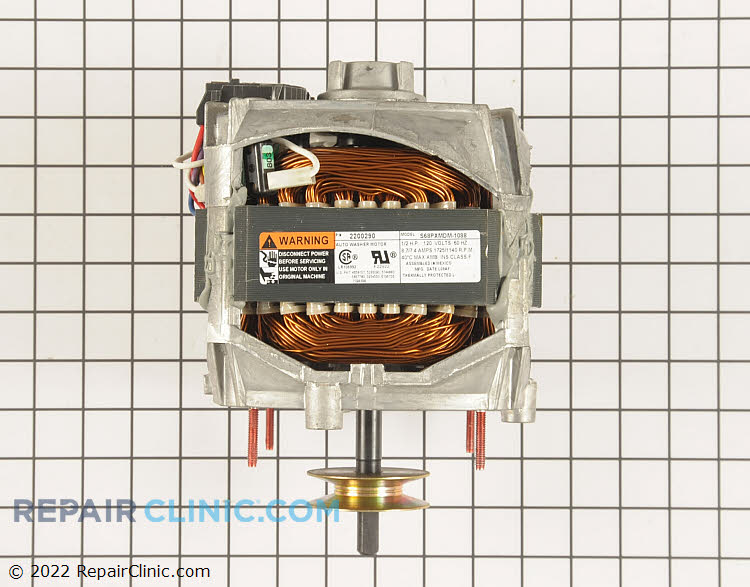 Drive Motor WP27001215 Alternate Product View