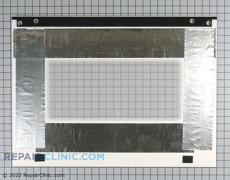 Outer Door Glass WP9759639 Alternate Product View
