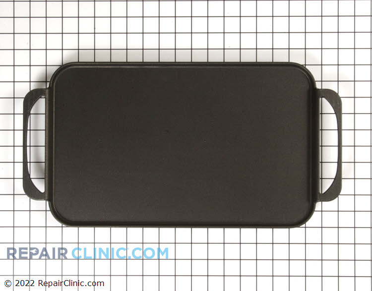 Teflon Griddle. Great for pancakes, bacon and more.