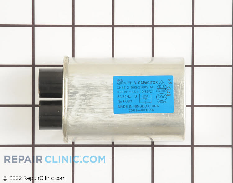 High Voltage Capacitor 2501-001016 Alternate Product View