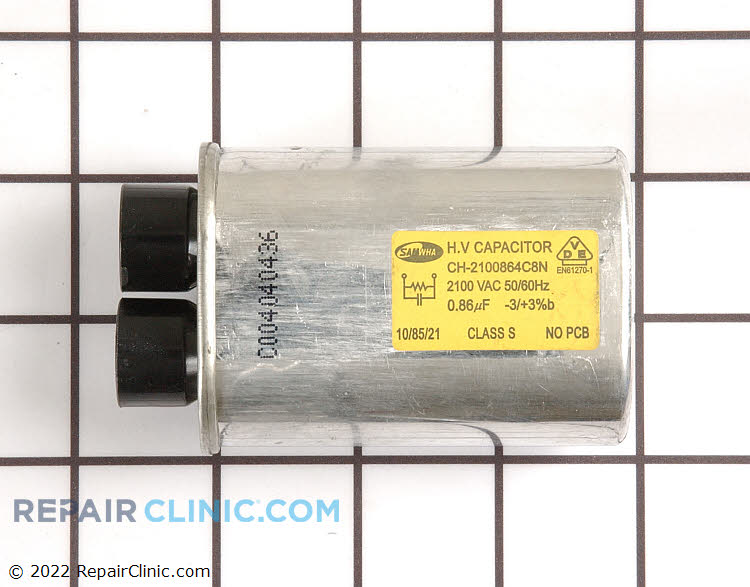 High Voltage Capacitor 2501-001035 Alternate Product View