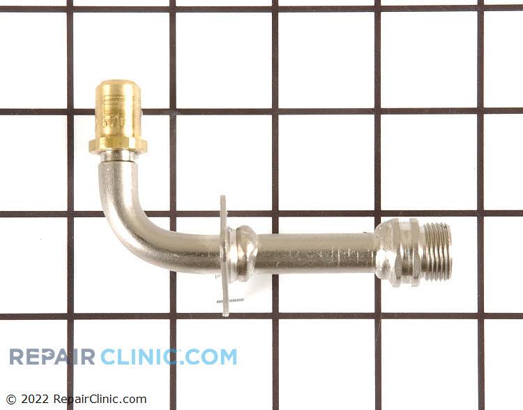 Broil orifice fitting, adjustable