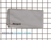 Mono polishing cloth - Part # 1094016 Mfg Part # WX72X10001