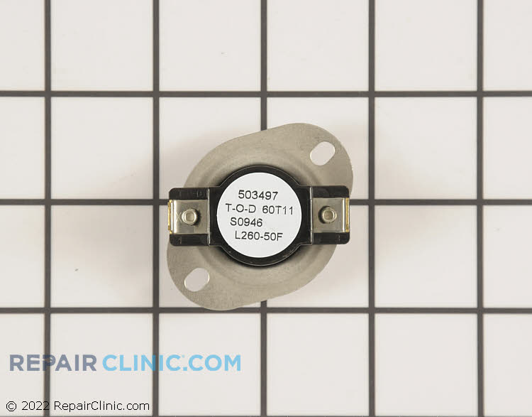 High Limit Thermostat WP35001092 Alternate Product View