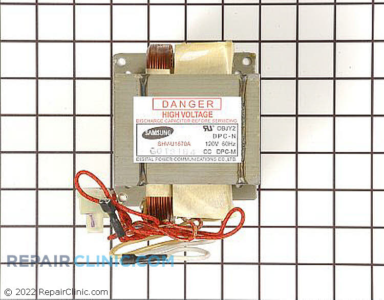 High Voltage Transformer DE26-00082A Alternate Product View