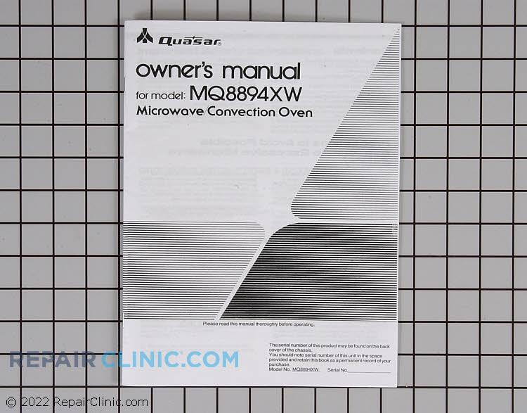 Instruction manual mq8894xw IBMQ8894XW      Alternate Product View