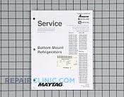 Repair Manual - Part # 1159190 Mfg Part # 16025629