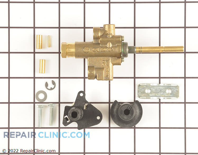 Surface Burner Valve 00496409 Alternate Product View