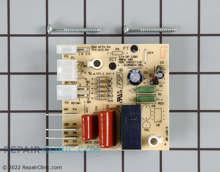 Defrost Control Board WP2304093 Alternate Product View