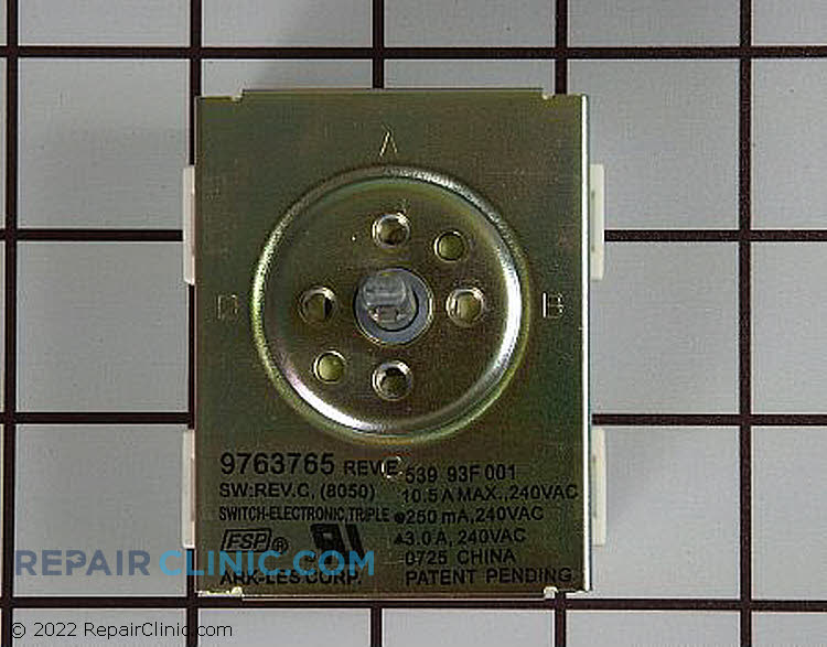 Surface Element Switch WP9763765 Alternate Product View