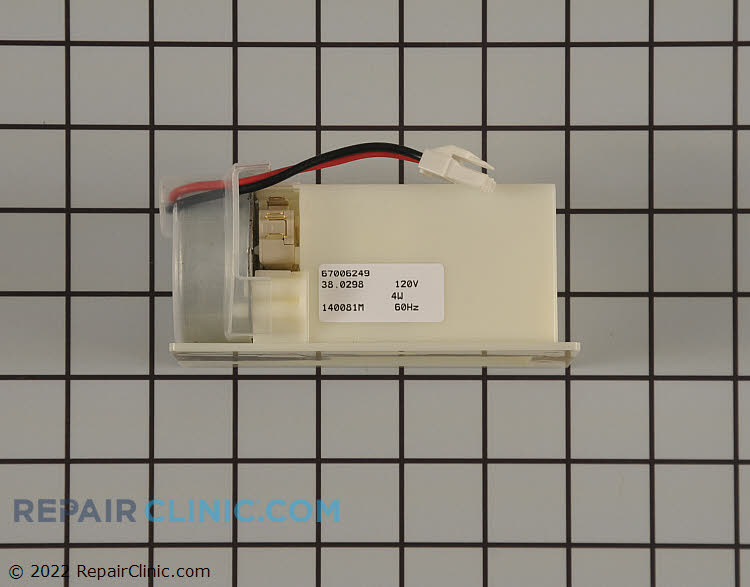 Damper Control Assembly WP67006249 Alternate Product View