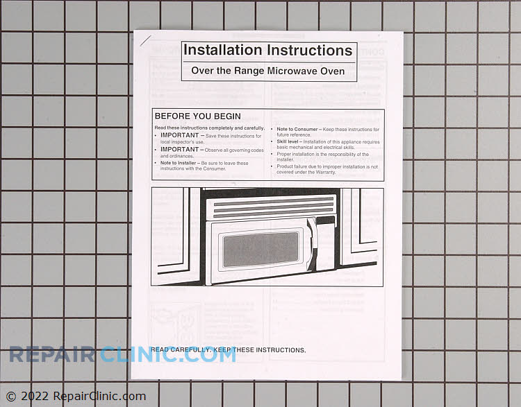 Installation Instructions 316488501       Alternate Product View