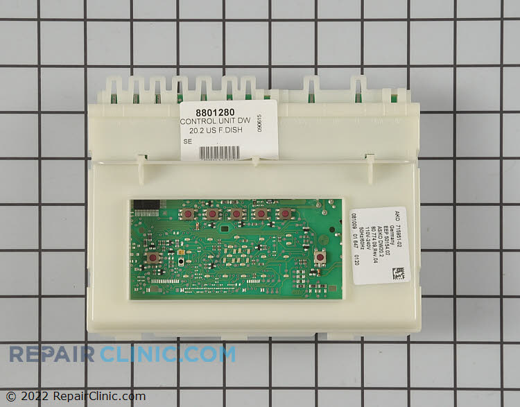 Main Control Board 8801280 Alternate Product View