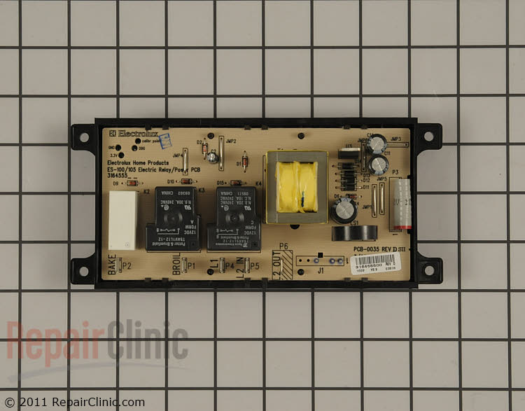 Oven Control Board 316455400 Alternate Product View