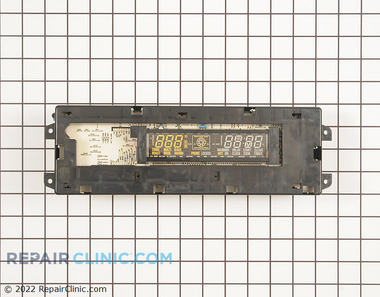 Electronic oven control board