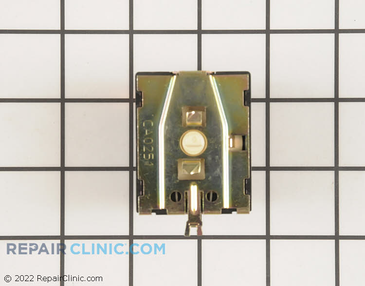 3 Position temperature selector switch