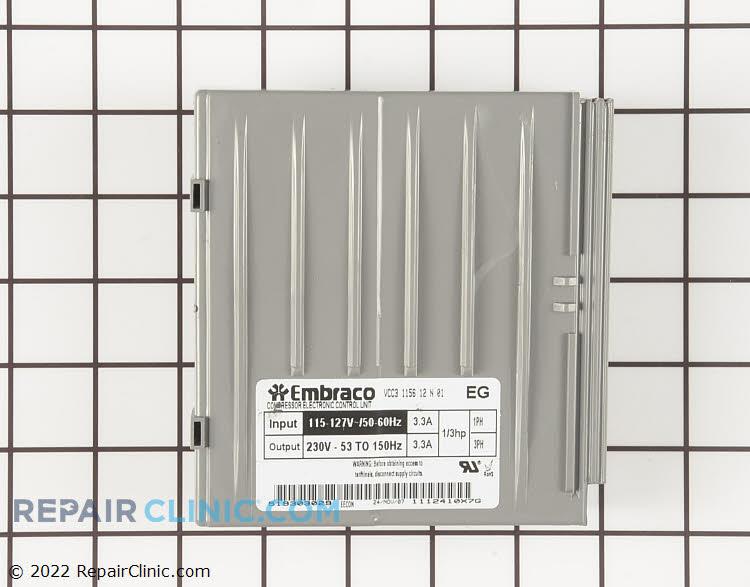 Inverter board for compressor