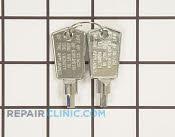 Door Key - Part # 4589314 Mfg Part # WR01X28053