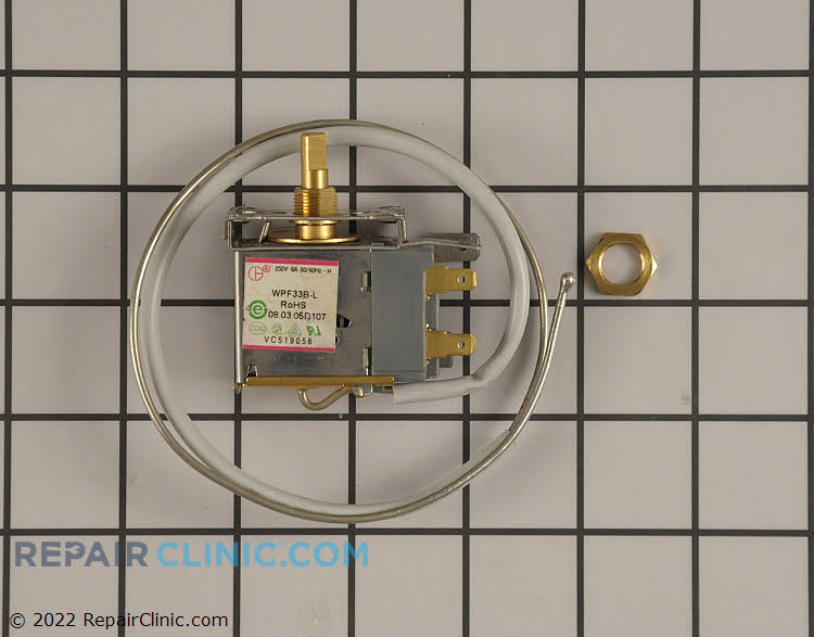 Temperature Control Thermostat RF-7350-82 Alternate Product View