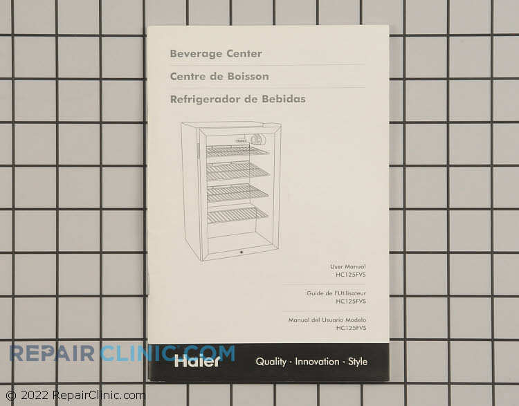Owner's Manual RF-9999-248 Alternate Product View