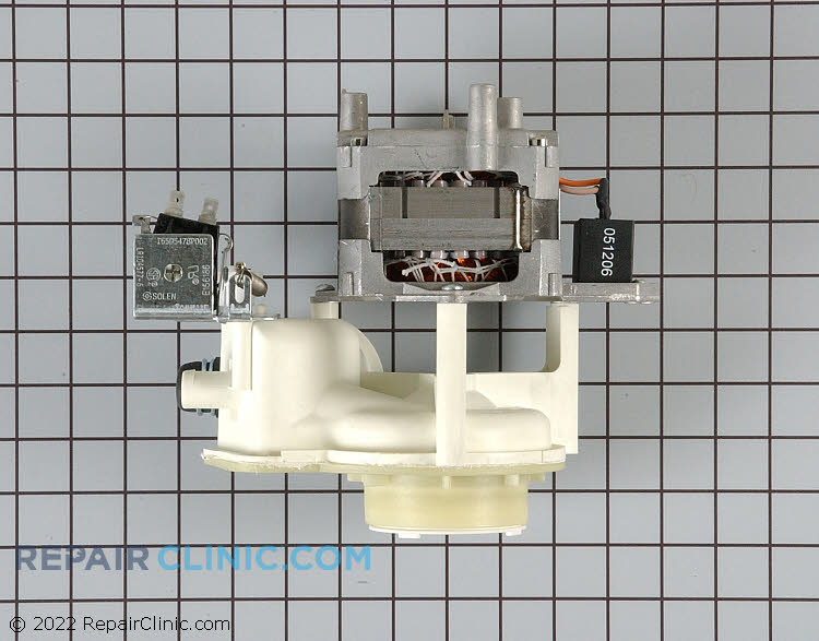 Pump and Motor Assembly WPY03000182 Alternate Product View