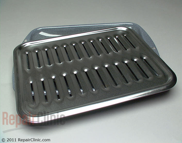 Broiler Pan WB48X10056 Alternate Product View