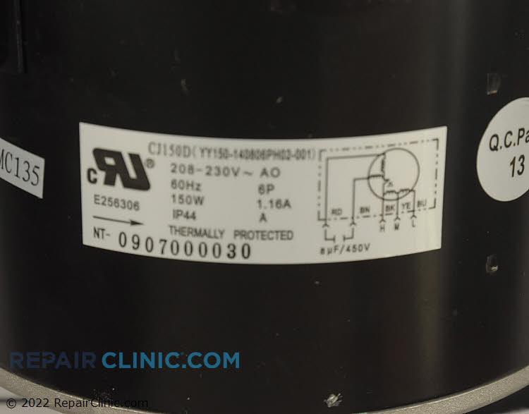 Fan Motor 5304459573 Alternate Product View