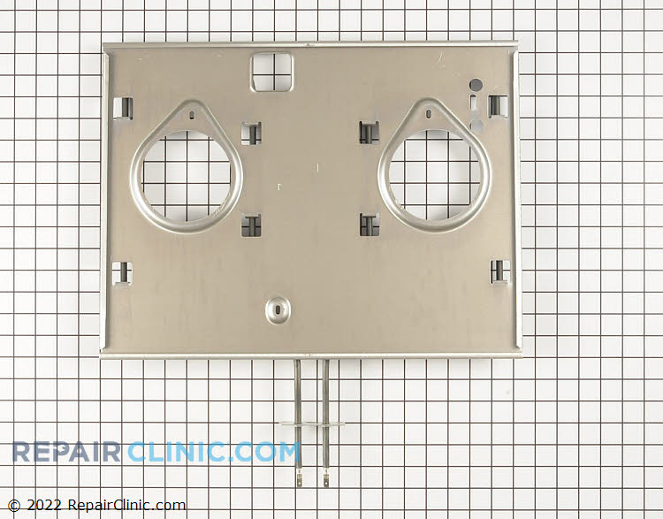 Broil element assembly