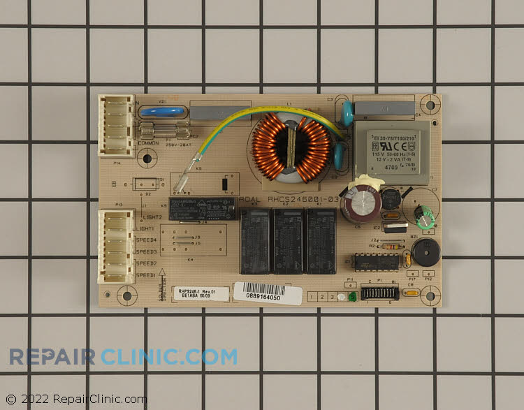 Main Control Board BE1ABA Alternate Product View