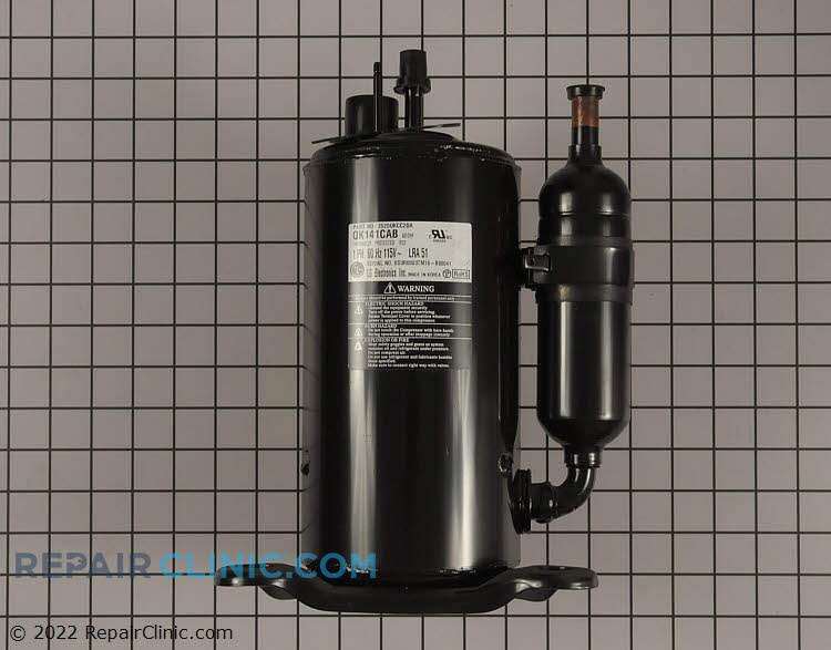 Compressor 2520UKCC2DA Alternate Product View