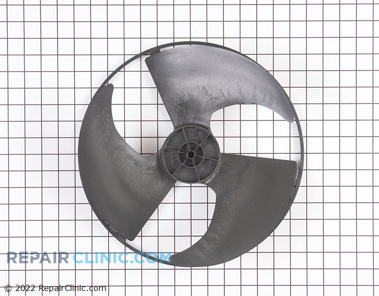 Axial condenser fan blade