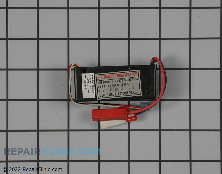 High Voltage Transformer 6609A10003Q Alternate Product View