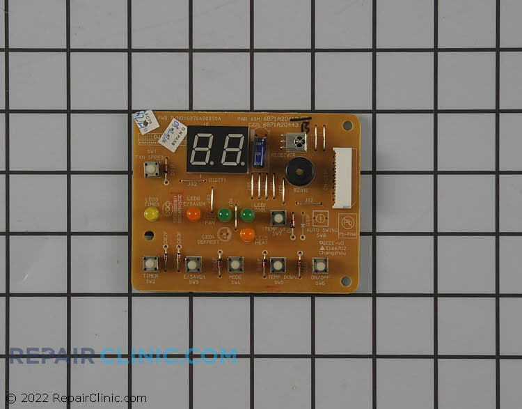Main Control Board 6871A20443B Alternate Product View