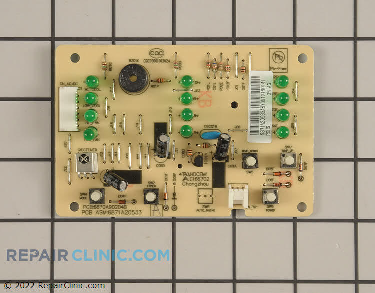 Main Control Board 6871A20533A Alternate Product View