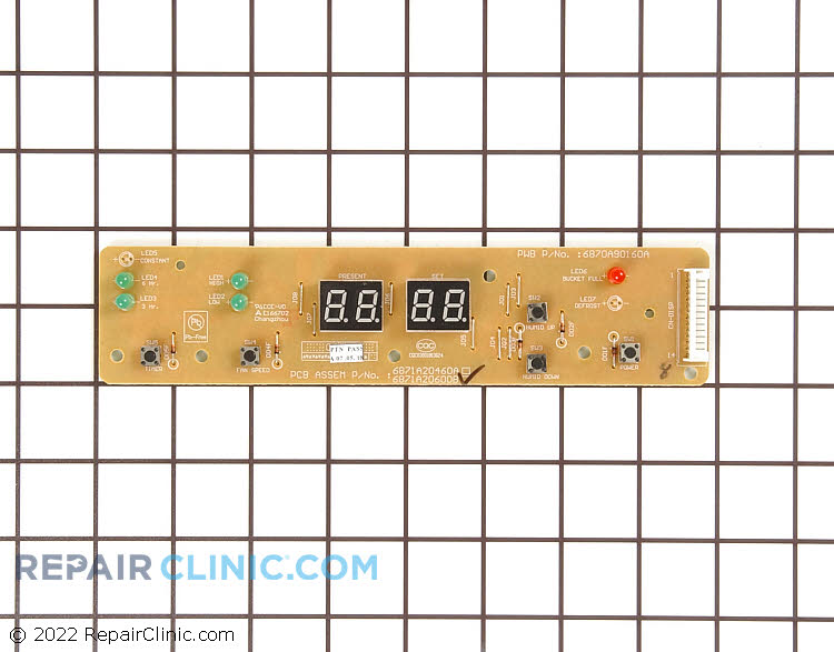 User Control and Display Board 6871A20600B     Alternate Product View