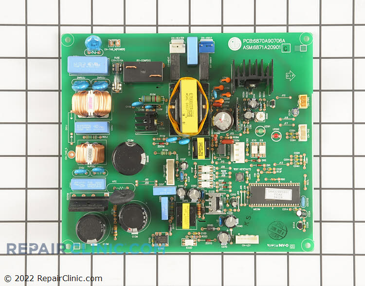 Main Control Board 6871A20901C Alternate Product View