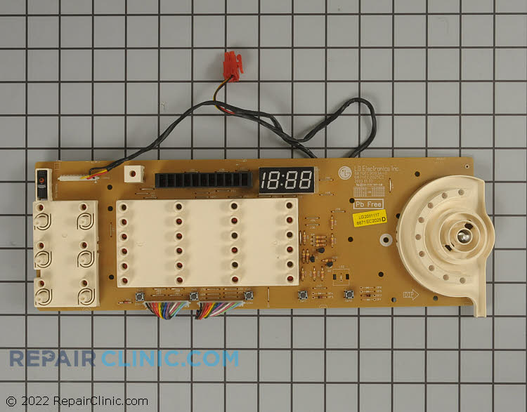 User Control and Display Board 6871EC2025D     Alternate Product View