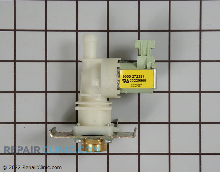 Dishwasher water inlet valve. The water inlet valve supplies water to the dishwasher. If the water inlet valve is defective, the dishwasher may underfill or not fill at all.
