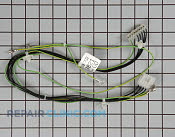 Wire Harness WPW10137867 01067518 maytag washing machine wire, receptacle & wire connector parts  at mifinder.co