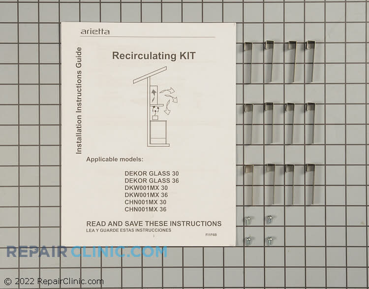 Recirculating Vent Kit KIT01937 Alternate Product View