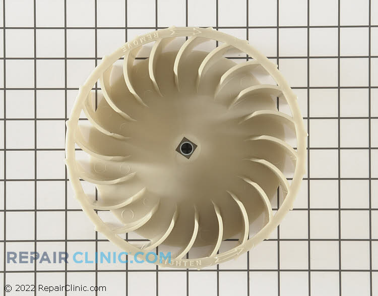 Blower Wheel WPW10349492 Alternate Product View