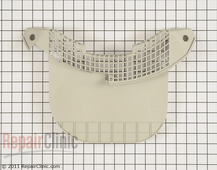 Lint filter cover *manufacture has modified the part and suggests replacing the filter guide also