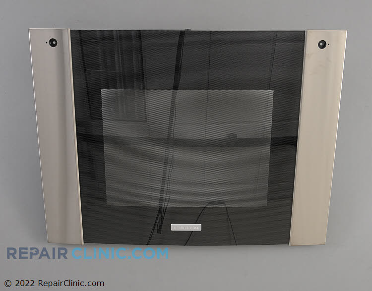 Glass assy.,upper door ,black/stainless 318299507       Alternate Product View